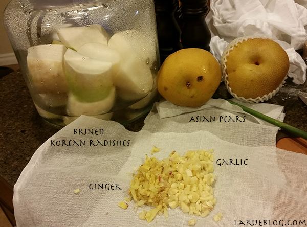 korean pickled radish recipe - dongchimi